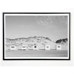 Applicata - Plakat - Beach house - 30x40 cm