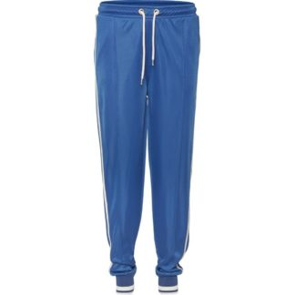 Juliet track pants - Blue with white stripe