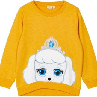 Name it - Palacepets Telle Sweat - Spicy Mustard - 86