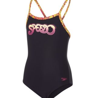 Speedo Placement Muscleback Badedragt Børn