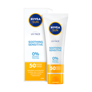 Nivea Sun Face Cream UV Sensitive SPF50 (50 ml)