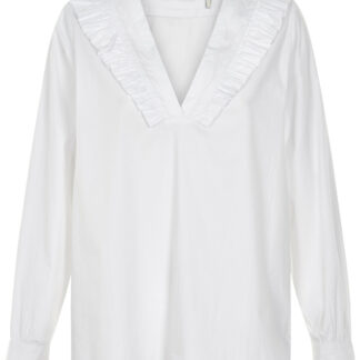 AND LESS LUCIE BLUSE 5119001 (Brilliant White, 34)