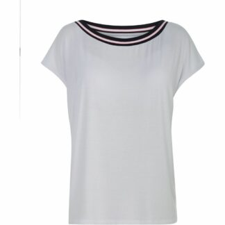 Comfy Copenhagen - T-shirt, With Or Without You - White/Rib