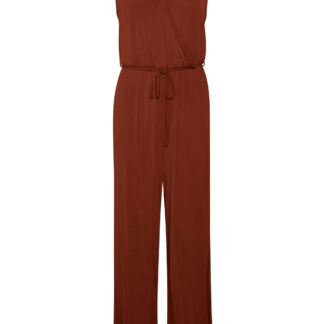 SOAKED IN LUXURY SL NEFRET JUMPSUIT 30403997 F (Fired Brick 47021, S)
