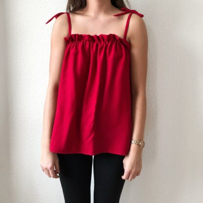 Lilly Top - Red